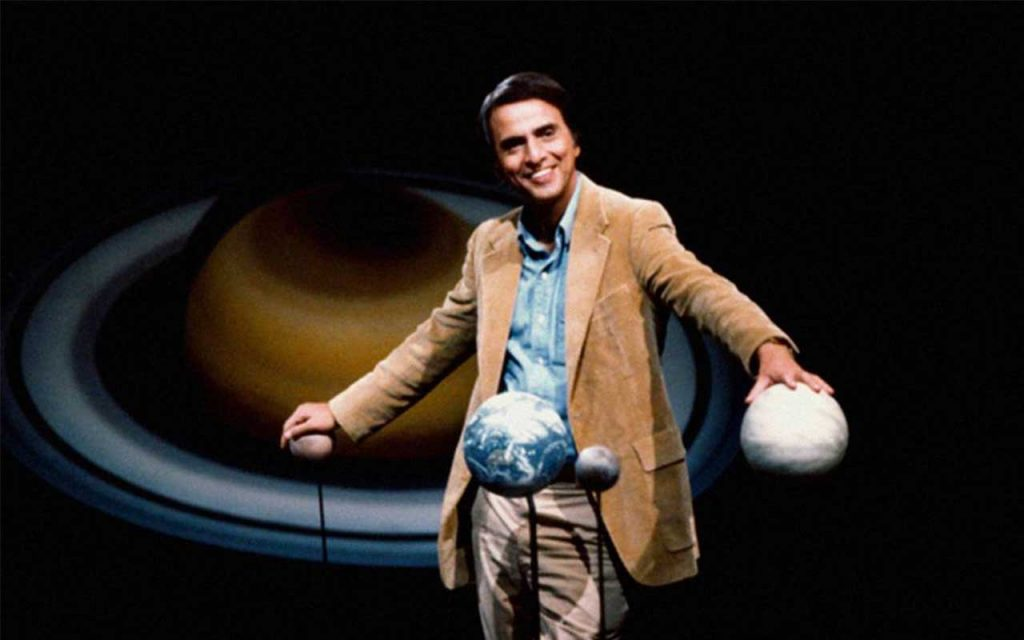 Carl Sagan. Foto: Kavolta.
