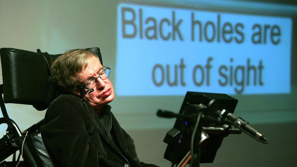 Stephen Hawking. Foto: Skynews.