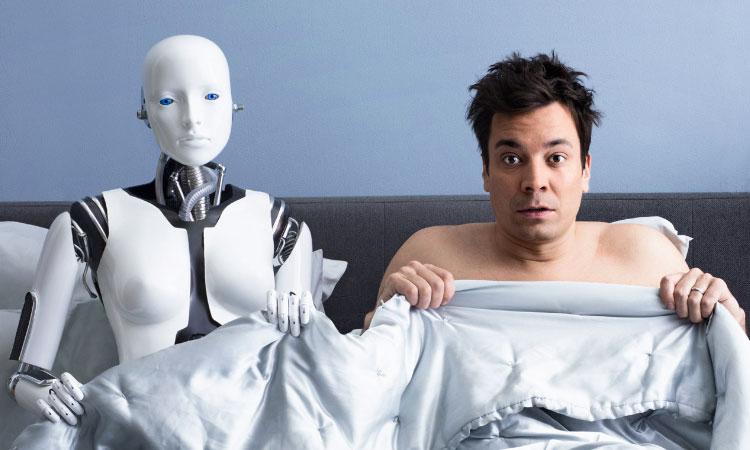 Ilustrasi Nikah dengan Robot. Foto: Technocrazed.